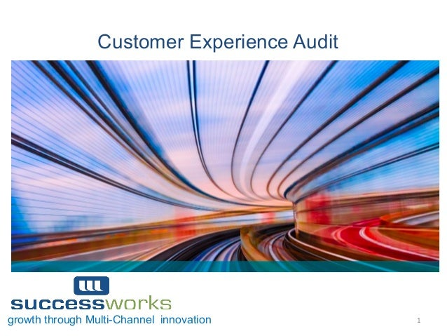 1  growth through Multi-Channel innovation Customer Experience Audit