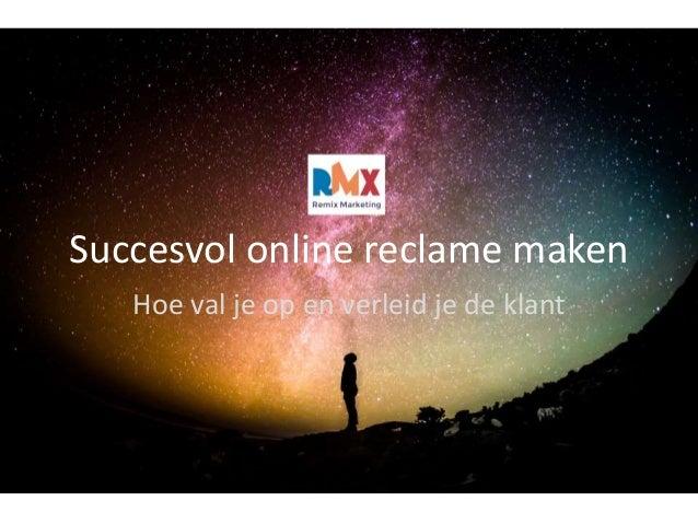 5873ba4853e Succesvol Online Reclame Maken