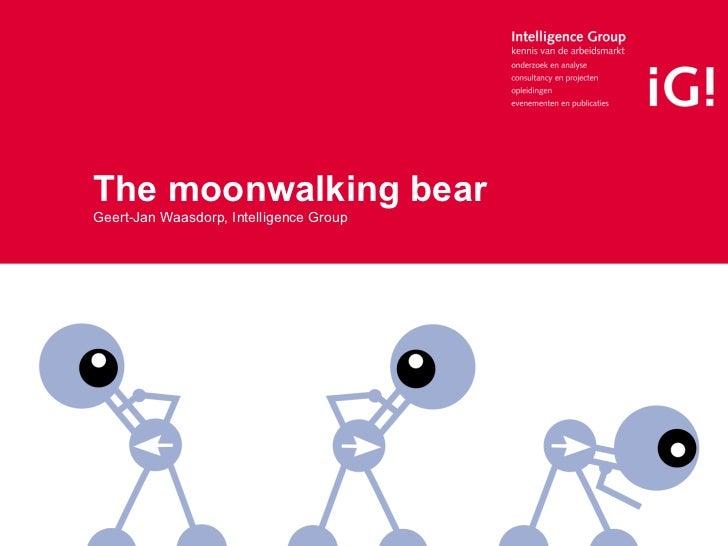 The moonwalking bear Geert-Jan Waasdorp, Intelligence Group