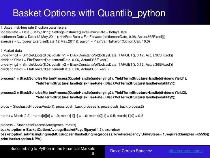 Succumbing to the Python in Financial Markets