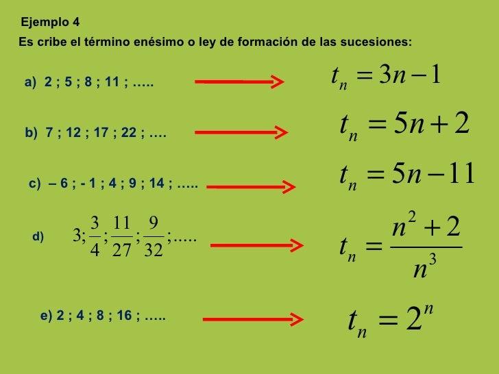 Hallar el enésimo término de una progresión geométrica ...