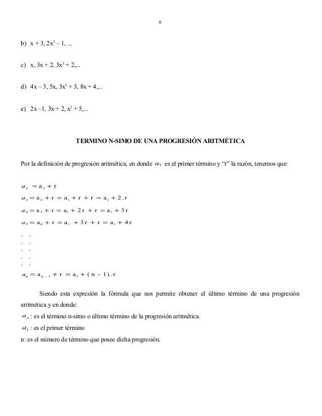 6  b) x + 3, 2x2 – 1, ... c) x, 3x + 2, 3x2 + 2,... d) 4x – 3, 5x, 3x2 + 3, 8x + 4,... e) 2x –1, 3x + 2, x2 + 5,...  TERMI...