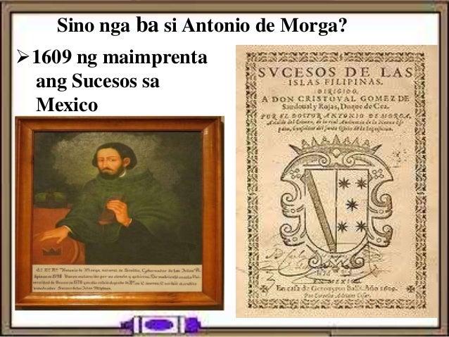 sucesos de las islas filipinas morga jose rizal Sucesos de las islas filipinas on amazoncom antonio de morga (1609) with annotations by dr jose del centrenario de jose rizal manila instituto.