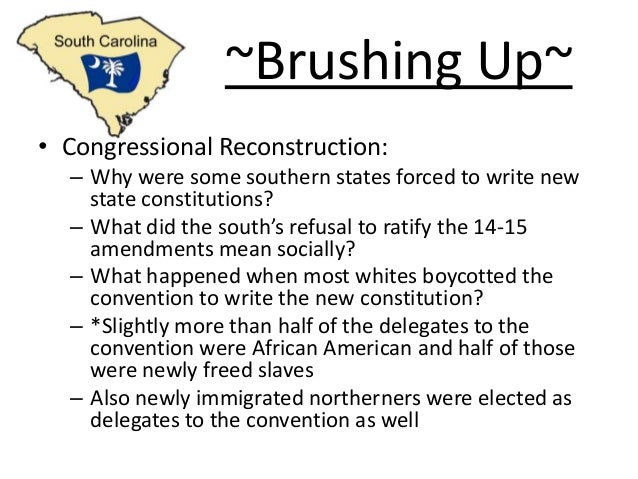 the successes and failures of reconstruction Successes and failures of the reconstruction era - in 1865, prior to abraham lincoln's assassination, reconstruction commenced after the confederacy's surrender at .