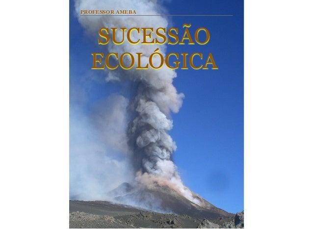 SUCESSÃO ECOLÓGICA PROFESSOR AMEBA