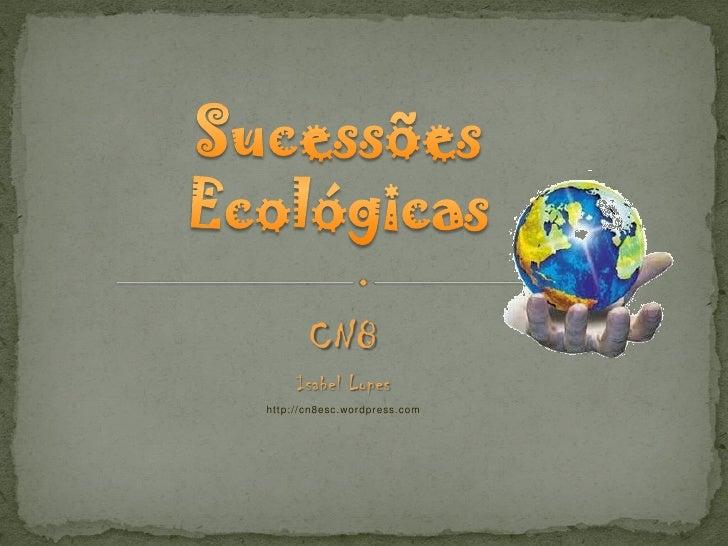 Sucessões ecológicas 8 cn