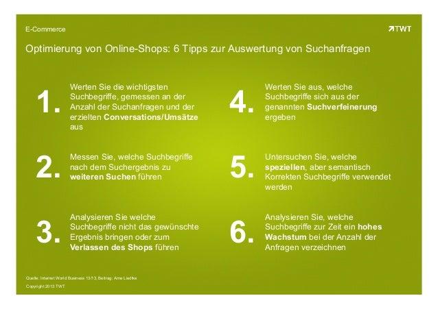 Suche im Online Shop: Erfolgsfaktoren und Tipps
