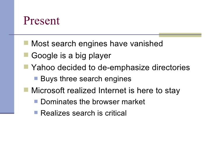 History of Search Engines: From 1945 to Google Today
