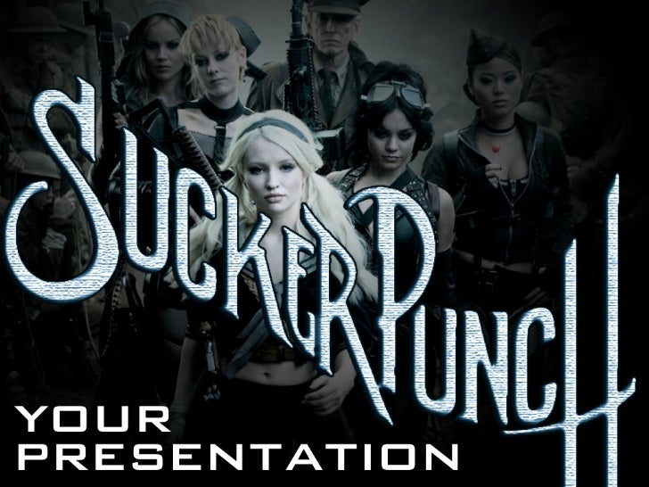 SuckerPunch Your Presentation [Presentation Tips] - #suckerpunch
