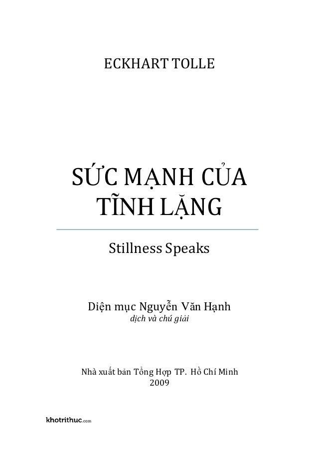 Suc manh cua su tinh lang stillness speaks-eckhart tolle-pdf-ebook-online Slide 3