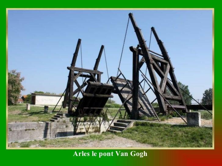 Arles le pont Van Gogh