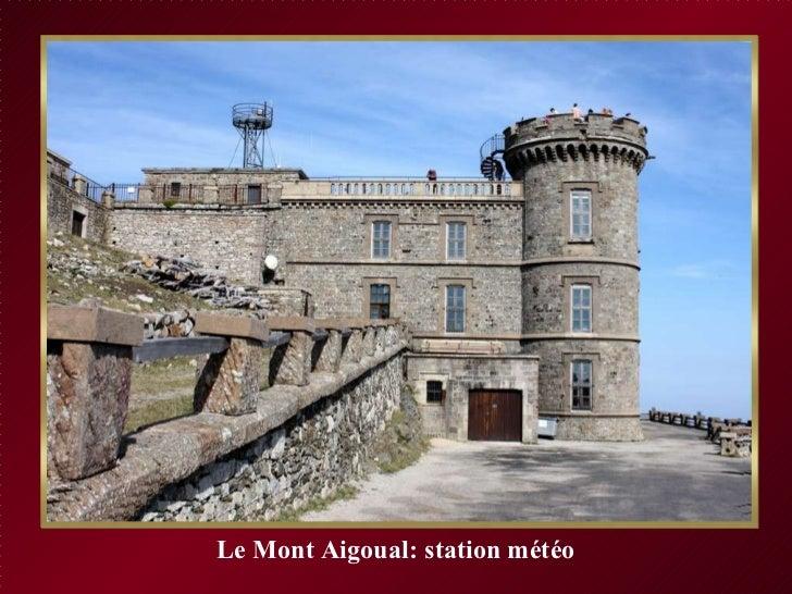 Le Mont Aigoual: station météo