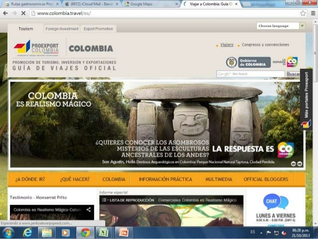 Dossier Sudamerica Guia de Tourism Board
