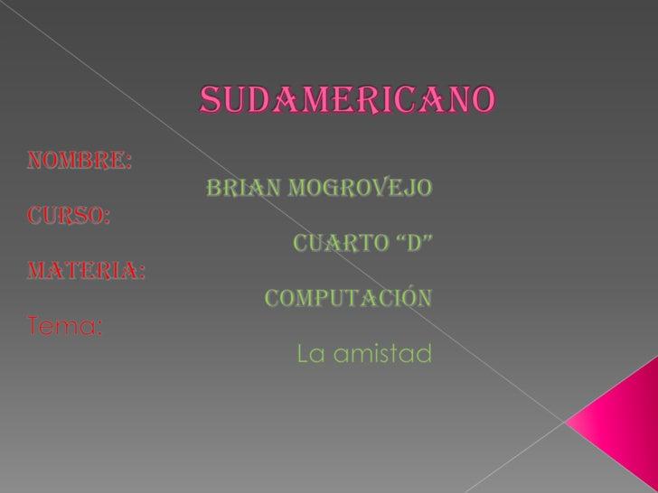 Sudamericano