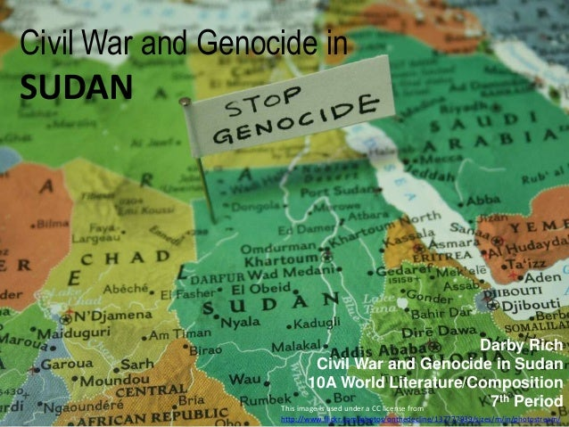 Civil War and Genocide in SUDAN This image is used under a CC license from http://www.flickr.com/photos/onthedecline/13777...