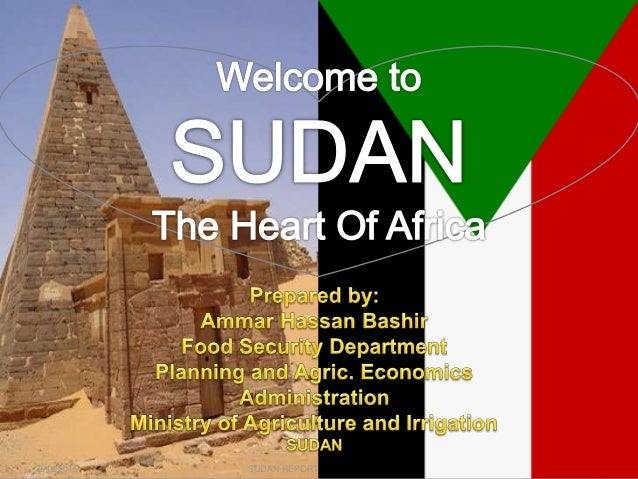 2/12/2015 SUDAN REPORT PRESENTATION 1