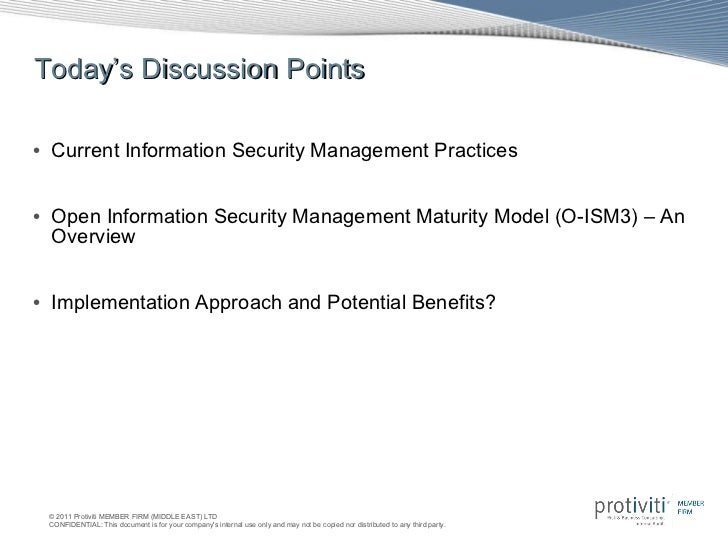 Sudarsan Jayaraman  - Open information security management maturity model Slide 2