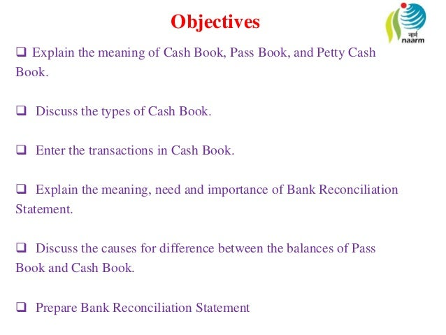 difference between cash book pass