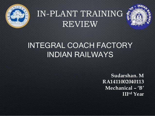 inplant training report on sago factory Read more about from the factory - a visit to the hyundai motor india chennai plant on business standard a tour around one of the largest automobile plants in the country is special we visit the hyundai factory in sriperumbudur near chennai to know the process of car making livewith an investment of over 27 billion usd and vendor investment of.