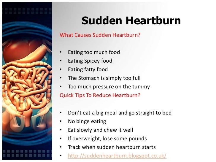 Best Natural Cure For Heartburn