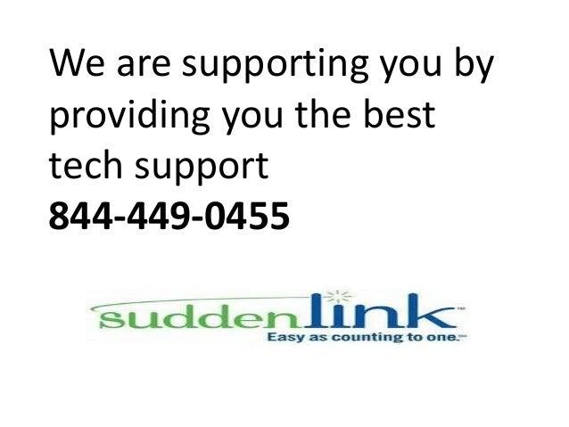 Sudden link customer service phone number 844 449-0455