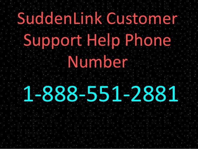 SuddenLink Customer Support Help Phone Number 1-888-551-2881