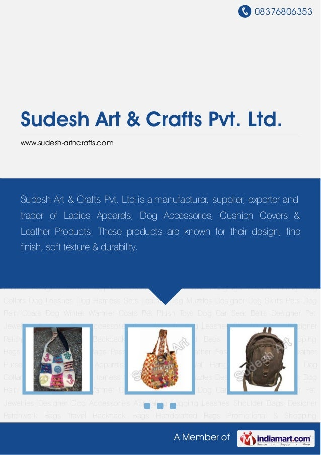 08376806353 A Member of Sudesh Art & Crafts Pvt. Ltd. www.sudesh-artncrafts.com Shoulder Bags Designer Patchwork Bags Trav...