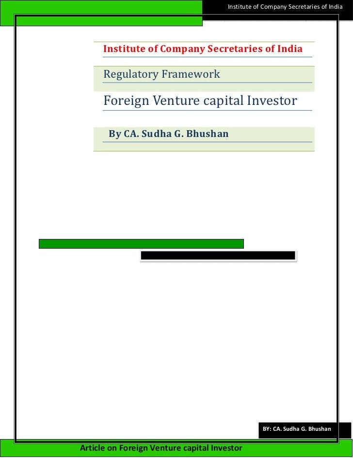 Institute of Company Secretaries of India      Institute of Company Secretaries of India      Regulatory Framework      Fo...