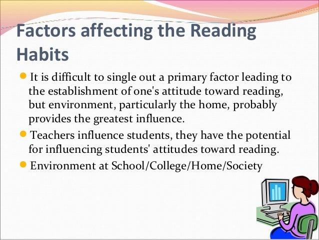 Essay on good reading habits