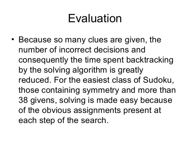 Sudoku Solving Algorithm with Backtracking | A Helpful ...