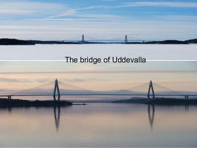 The bridge of Uddevalla