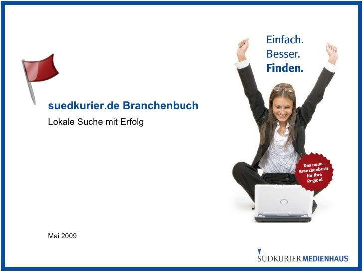 suedkurier.de Branchenbuch Lokale Suche mit Erfolg Mai 2009