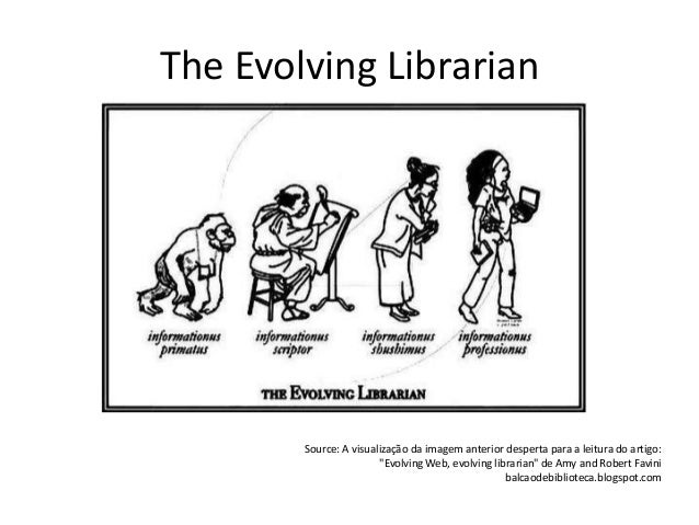 The evolving librarian - health and medical librarians in a changing environment Slide 2