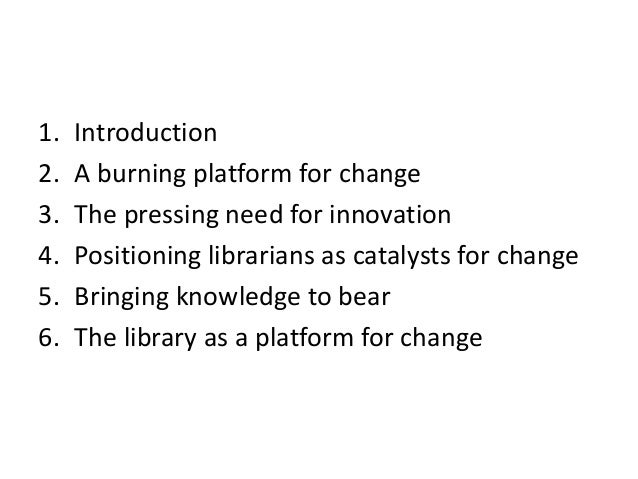 The evolving librarian - health and medical librarians in a changing environment Slide 3
