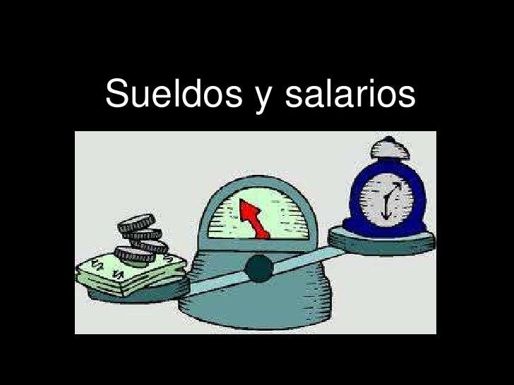 Tema 4 Salarios Y Sueldos