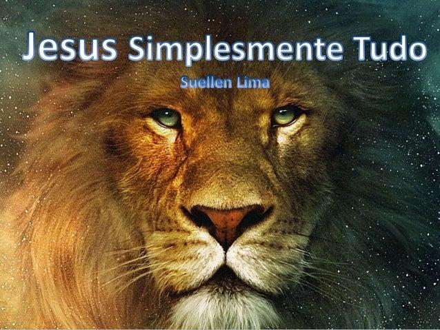 Suellen Lima - Jesus Simplesmente Tudo Versão 2