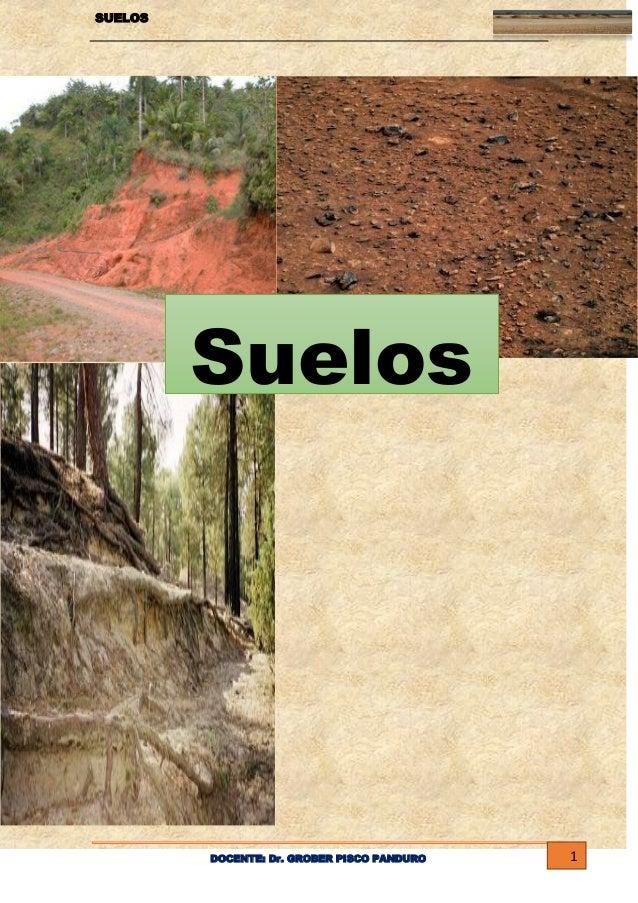 Plan de manejo de recurso suelo for Como esta constituido el suelo