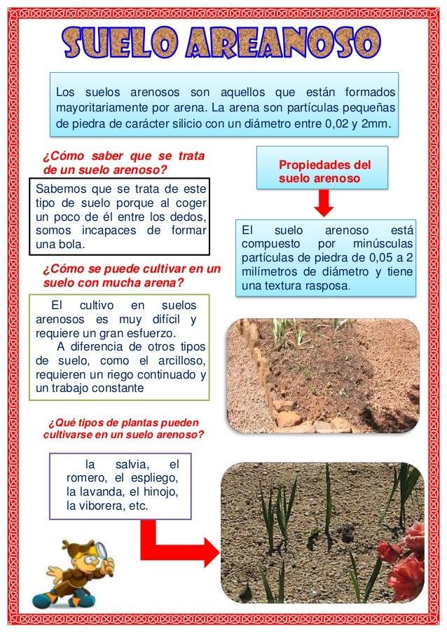 Suelo arenoso for Marmol caracteristicas y usos