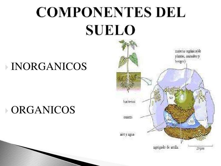 Suelo exp for Materiales que componen el suelo