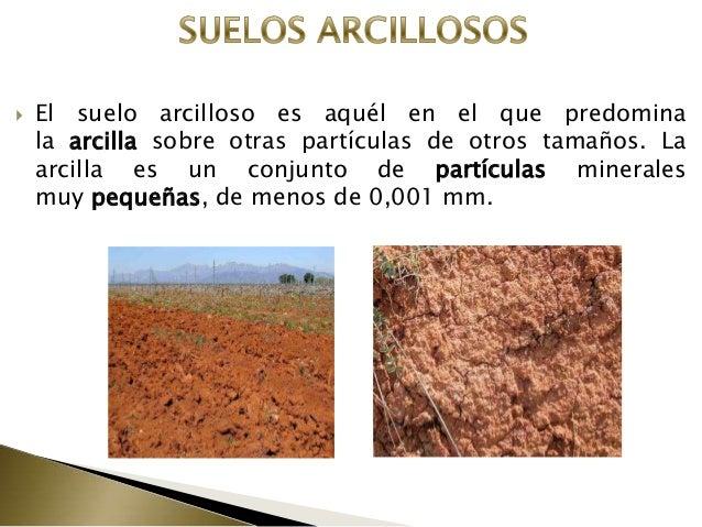 Suelos for Materiales que componen el suelo