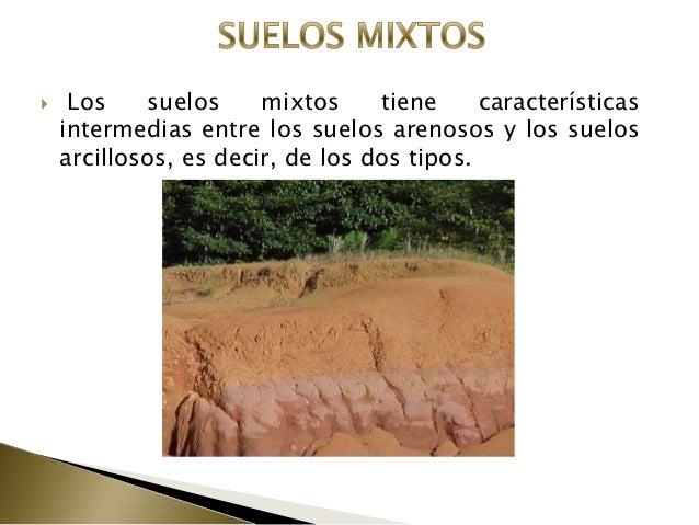 Suelos for Suelos y tipos de suelos