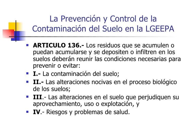 Suelos Contaminados en México (Bases Legales para la Prevención y Rem…