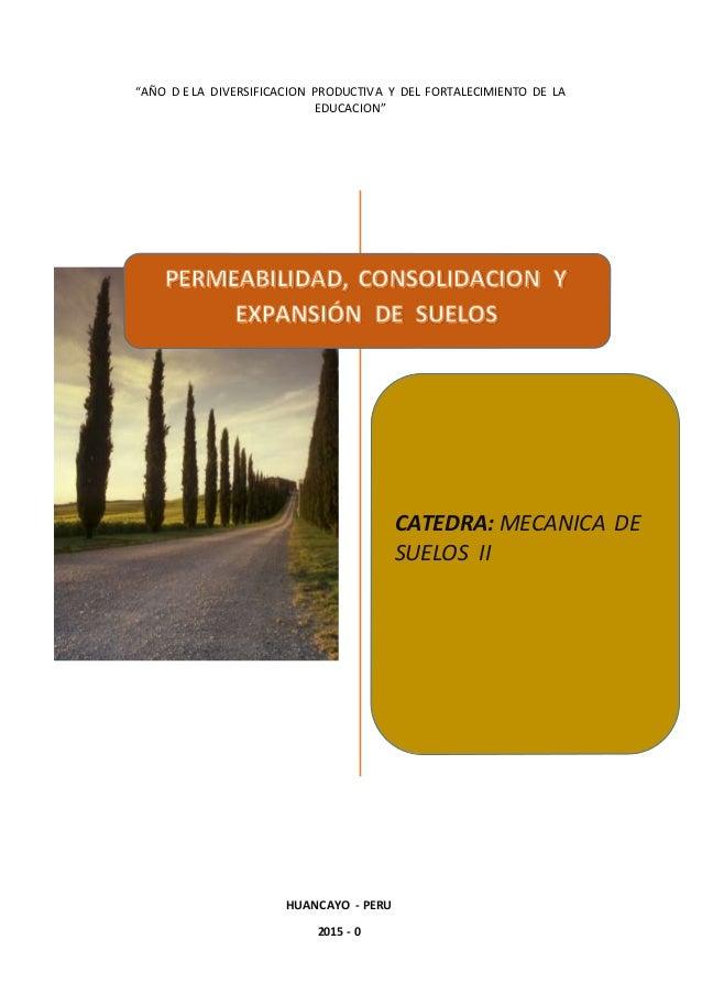 Permeabilidad consolidacion y expansion de suelos for Consolidacion de suelos