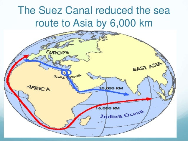 Suez Canal On Africa Map.Suez Canal