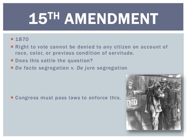 The 14th and 15th Amendments — History of U.S. Woman's Suffrage