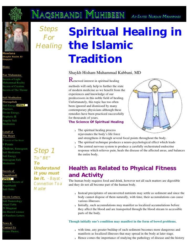 Steps                            For                                            Spiritual Healing in Mawlana              ...