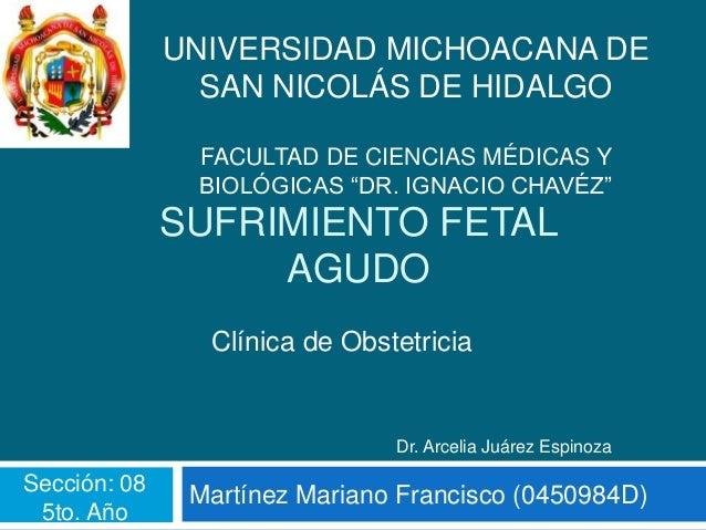 UNIVERSIDAD MICHOACANA DE                SAN NICOLÁS DE HIDALGO               FACULTAD DE CIENCIAS MÉDICAS Y              ...