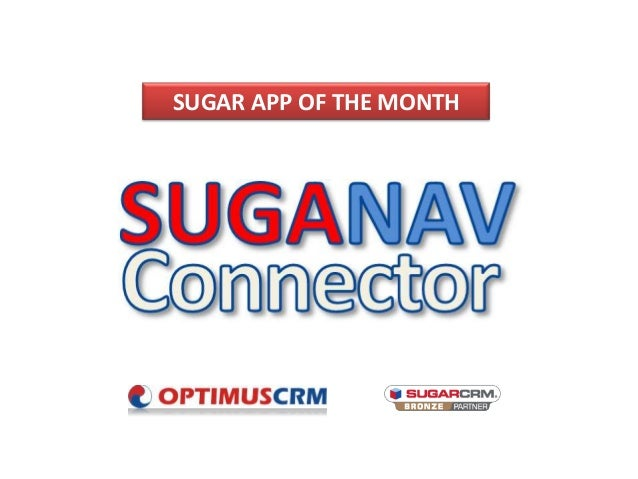 SUGAR APP OF THE MONTH