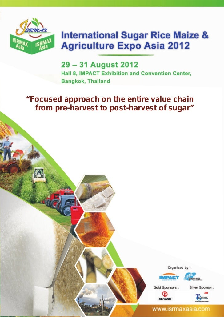 """Focused approach on the entire value chain""Focused approach           entire value chain           from pre-harvest to po..."