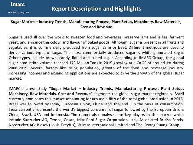 Sugar Market Analysis Report 2016-2021
